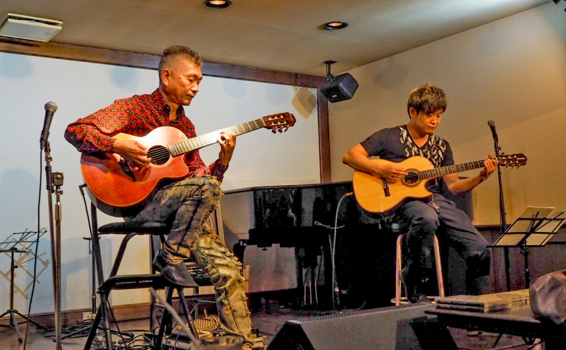 山口武&今林慶二ギターデュオライブご来場ありがとうございました!